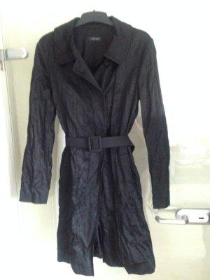 Mantel von Strenesse schwarz aus glänzendem Material