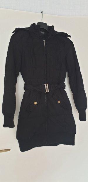 Mantel von Telly Weijl, Gr. 34, schwarz