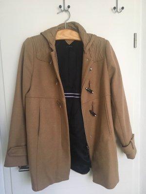Tommy Hilfiger Abrigo con capucha marrón claro-beige