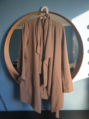 Only Geklede jurk grijs-bruin-lichtbruin