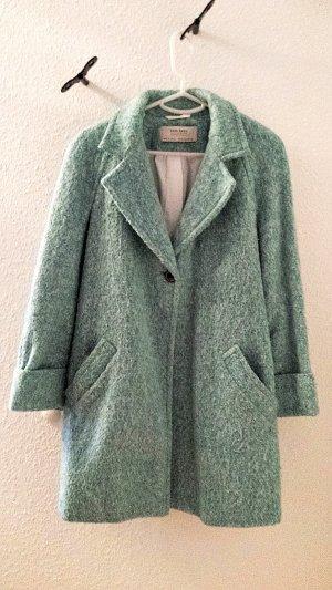Mantel von Zara Basic in türkis, Gr. S