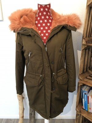 Zara Outdoor Jacket khaki