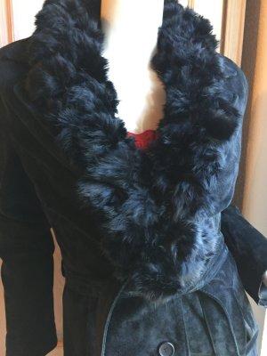 Ann LLewellyn Leren jas zwart Leer