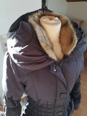 Vero Moda Abrigo de plumón lila grisáceo-malva