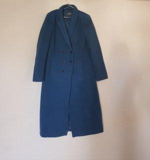 Mantel Winter lang von Kiomi gr. 40 petrol blau