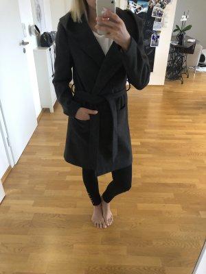 Mantel wollmantel vila grau Parka Jacke xs s 34 36 Trenchcoat Mode Blogger Fashion
