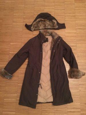 Mantel Woolrich braun, Gr.M