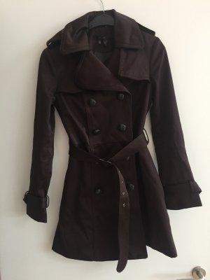 Mantel Zara braun M