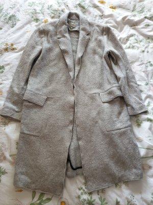 Zara Trafaluc Gabardina tipo vestido gris claro