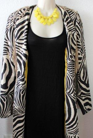 Mantel, Zebra, schwarz weiß