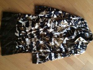 Mantelkleid Camouflage wie Satin Seide Vestino Due