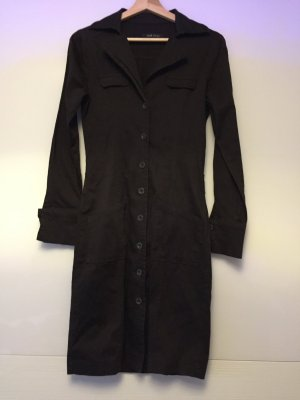 Amisu Coat Dress dark brown