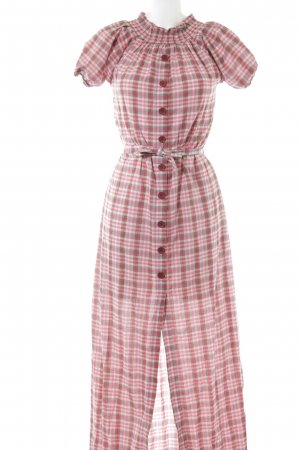 Coat Dress Vichy check pattern college style