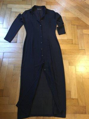 Lanski & Smiss Gabardina tipo vestido gris antracita Fibra sintética