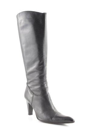 manufacture d'essai Absatz Stiefel schwarz klassischer Stil