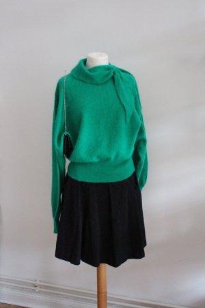 Jersey de lana verde lana de angora