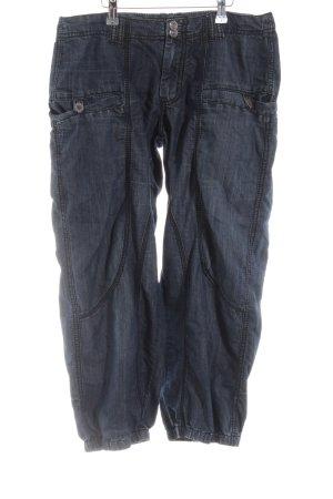 MAPP Jeans Bermuda blau Casual-Look