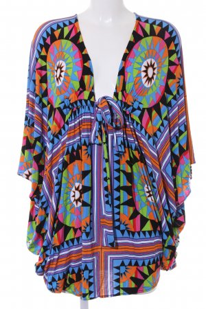 Mara Hoffman Tunique-blouse motif abstrait Look de plage