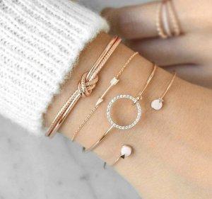 Marble Armband Set