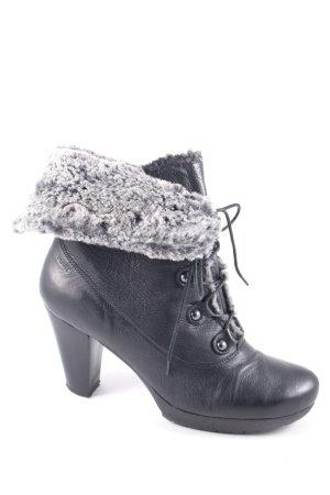 MARC Absatz Stiefel schwarz Street-Fashion-Look