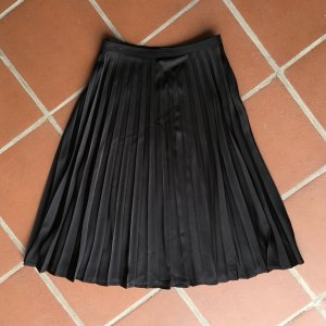 Pleated Skirt black polyester