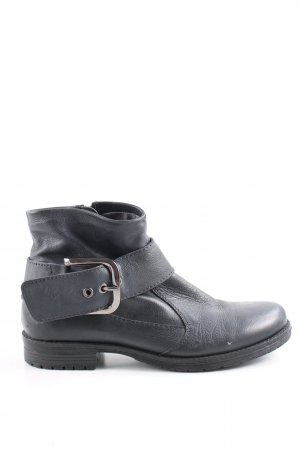 MARC Ankle Boots dark blue casual look