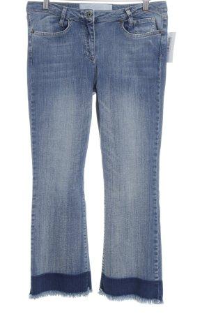 Marc Aurel 7/8 Jeans stahlblau Jeans-Optik