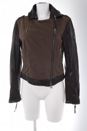 Marc Aurel Bikerjacke mehrfarbig Country-Look