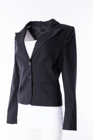 Marc Aurel Wool Blazer black-white new wool