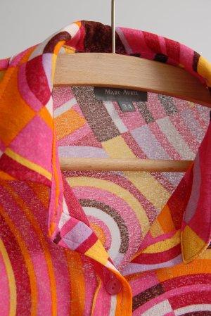 Marc Aurel Blouse transparente multicolore polyester