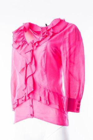 MARC AUREL - Bluse mit Volants Pink