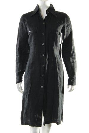 Marc Aurel Blusenkleid schwarz klassischer Stil