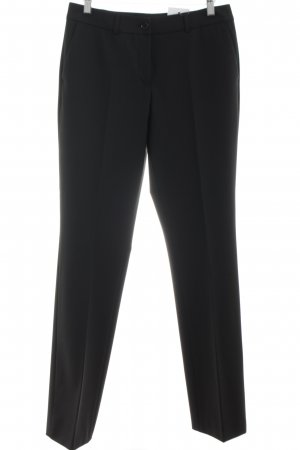 Marc Aurel Bundfaltenhose schwarz Business-Look