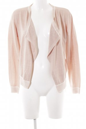 Marc Aurel Cardigan rosé Wickel-Look
