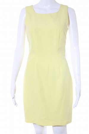 Marc Aurel Sheath Dress yellow '80s style