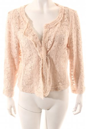 Marc Aurel Crochet Top pink romantic style