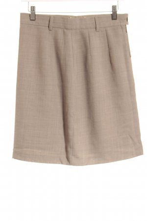 Marc Aurel High Waist Rock beige Casual-Look
