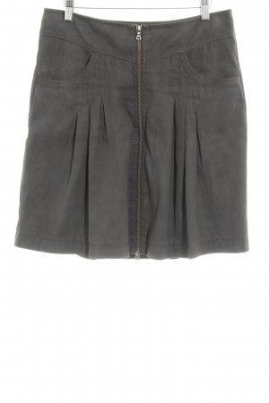 Marc Aurel High Waist Rock dunkelgrau Casual-Look