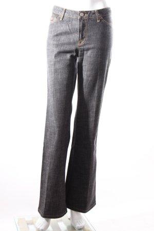 Marc Aurel Jeansschlaghose schwarz-grau