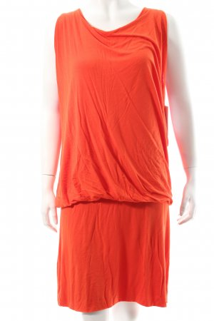 Marc Aurel Jerseykleid orange