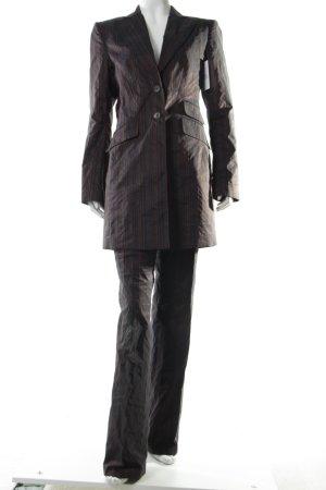 Marc Aurel Kostüm Streifenmuster extravaganter Stil
