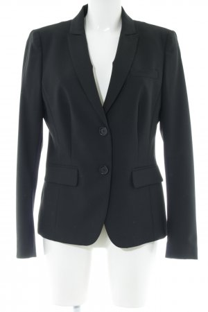 Marc Aurel Kurz-Blazer schwarz Business-Look
