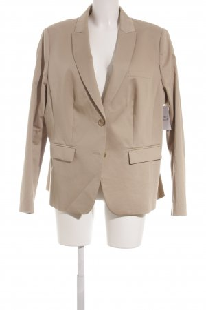 Marc Aurel Kurz-Blazer beige Business-Look