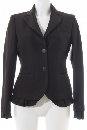 Marc Aurel Kurz-Blazer braun Casual-Look