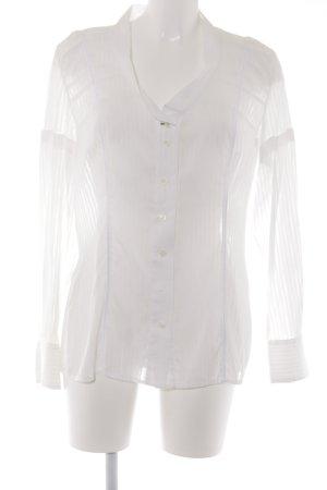 Marc Aurel Long Sleeve Blouse white business style