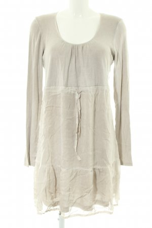 Marc Aurel Langarmkleid creme Casual-Look