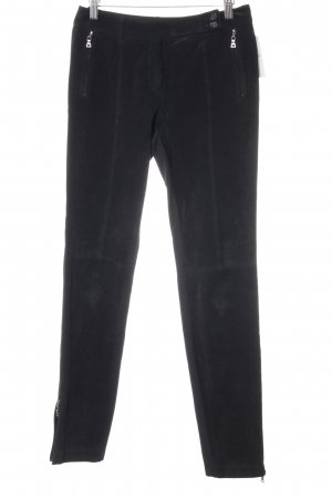 Marc Aurel Lederhose schwarz Casual-Look