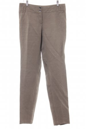 Marc Aurel Linen Pants grey brown business style