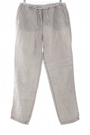 Marc Aurel Linen Pants grey brown casual look