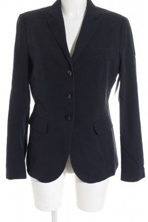 Marc Aurel Long-Blazer dunkelblau Business-Look